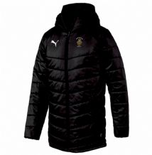 Royal British Legion Puma Liga Sideline Bench Jacket – Black/White